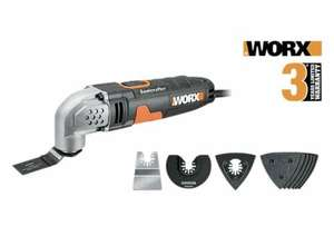 WORX WX667 230W Sonicrafter Oscillating Multi-Tool with Accessories £29.99 at Worx/ebay