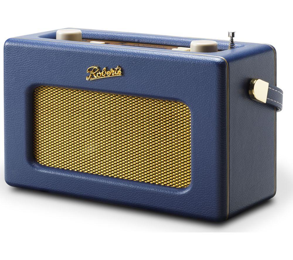 ROBERTS Revival iSTREAM3 Portable DAB+/FM Retro Smart Bluetooth Radio - Blue £109.97 @ Currys