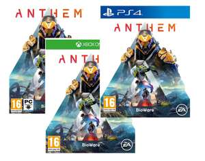 Anthem Inc. Legion of Dawn Legendary Ranger Armour Pack+Weapon Founders Player Banner [PS4/Xbox/PC] for £5.85 @ Simplygames