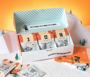 Pact Coffee Advent Calendar + Free Branded Tea Towel + Hario V60 Brewing Kit £39.95 using code @ Pact Coffee
