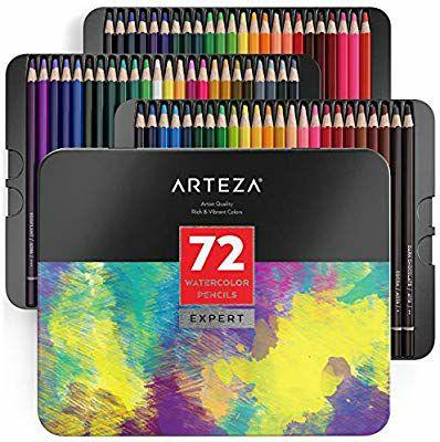 Arteza professional watercolour pencils in 72 colours for £16.99 + £4.49 NP as Amazon Lightning Deal @ Arteza Europe