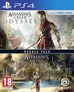 Assassins Creed Origins + Odyssey Double Pack (PS4) for £31.85 delivered @ ShopTo
