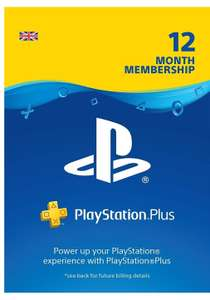 PS Plus 12 months membership at Amazon for £37.49