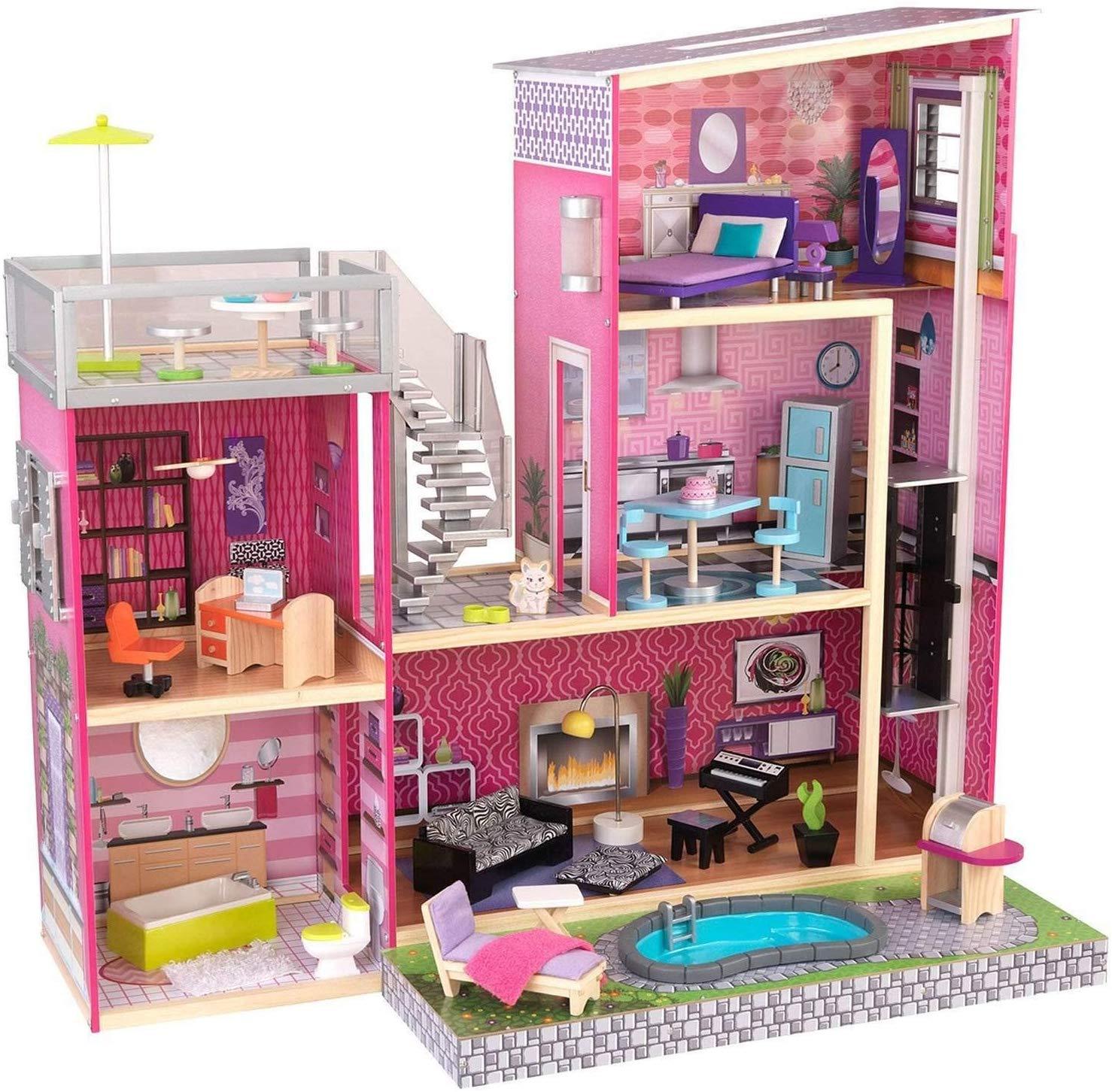 Kidkraft 65833 mansion dolls house at Amazon for £132.99