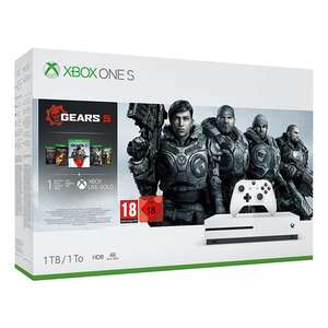 Xbox One S 1TB Console GEARS 5 BUNDLE £179.99 / Xbox One S 1TB Console Forze Horizon 4 BUNDLE - £179.99 @ Monster Shop