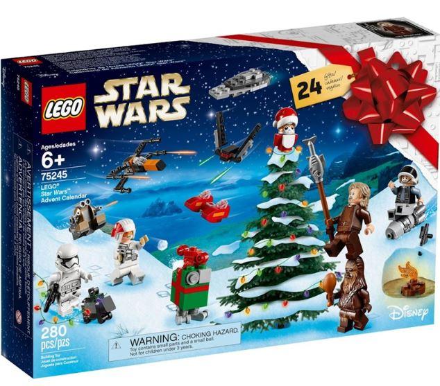 LEGO Star Wars Christmas Advent Calendar 2019 (75245) £22.99 at Longacres