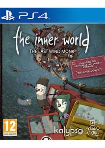 The Inner World: The Last Windmonk (PS4) - £3.99 delivered @ Base