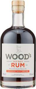 Woods Old Navy Rum, 70 cl £19.95 at Amazon Prime / £24.44 Non Prime