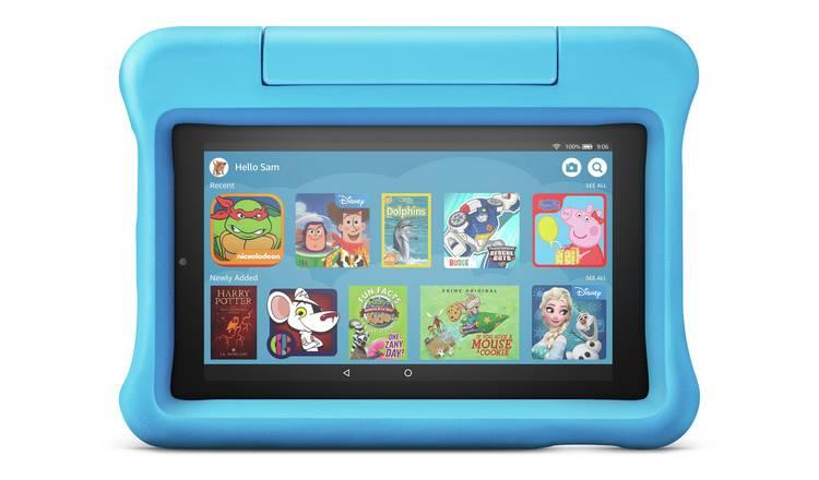 Amazon Fire 7 Kids Edition 7 Inch 16GB Tablet - Blue, Purple, Red @ Argos