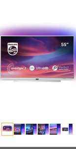 Philips 55PUS7304/12 55-Inch 4K UHD Android Smart TV with Ambilight and HDR 10+, Works With Alexa - (2019/2020 Model) - £509 @ Amazon