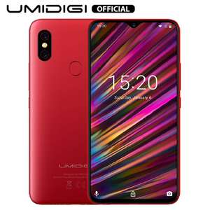 UMIDIGI F1 Mobile Phone Dual 4G 6.3in 4GB RAM 128GB Storage 5150mAH battery £127.99 Sold by U-M-I EU-Shop and Fulfilled by Amazon