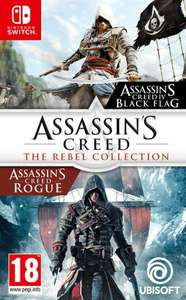 Assassin's Creed IV Black Flag + Assassin's Creed Rogue Nintendo switch £20.95 @ Coolshop