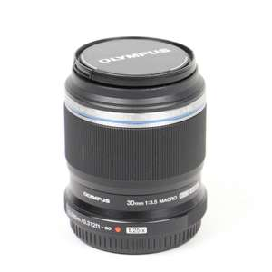 Olympus 30mm macro lens for Micro 4/3 £99 at Wex Photo Video