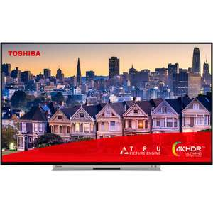 "Toshiba 58U2963DB 58"" Smart 4K Ultra HD TV with HDR10 and Dolby Vision £349 at AO"