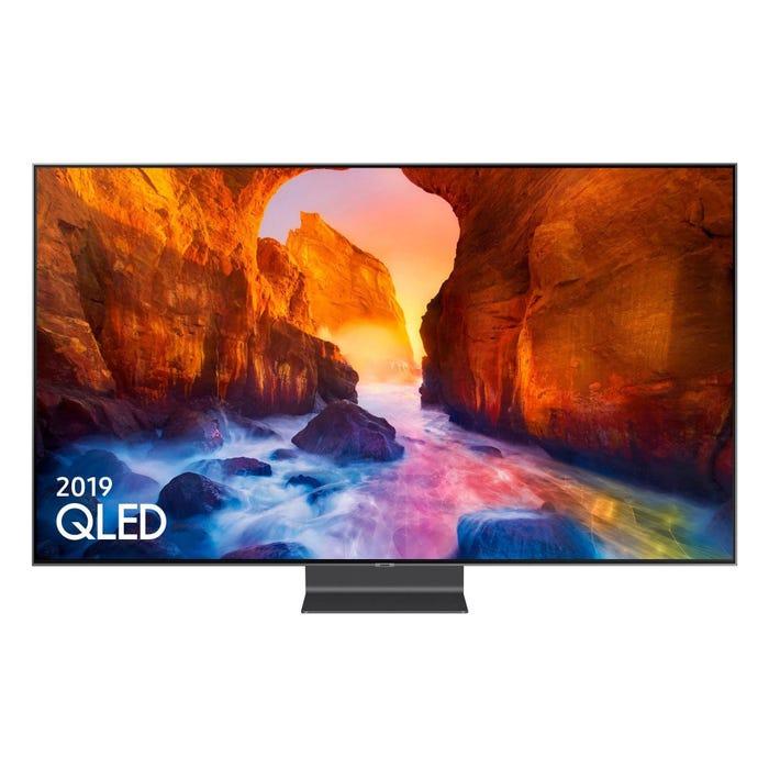Samsung QE55Q90R & HW-Q80R 55 inch 4K Ultra HDR 2000 Smart QLED TV with Apple TV app & Cinematic Soundbar £1,499 at Richer Sounds