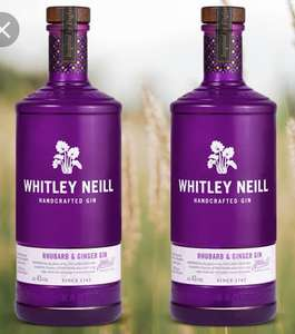 2 x Whitley Neill Rhubarb & Ginger Gin 70cl + 4 x Galaxy Caramel 135g £29.00 Delivered @ Amazon Pantry