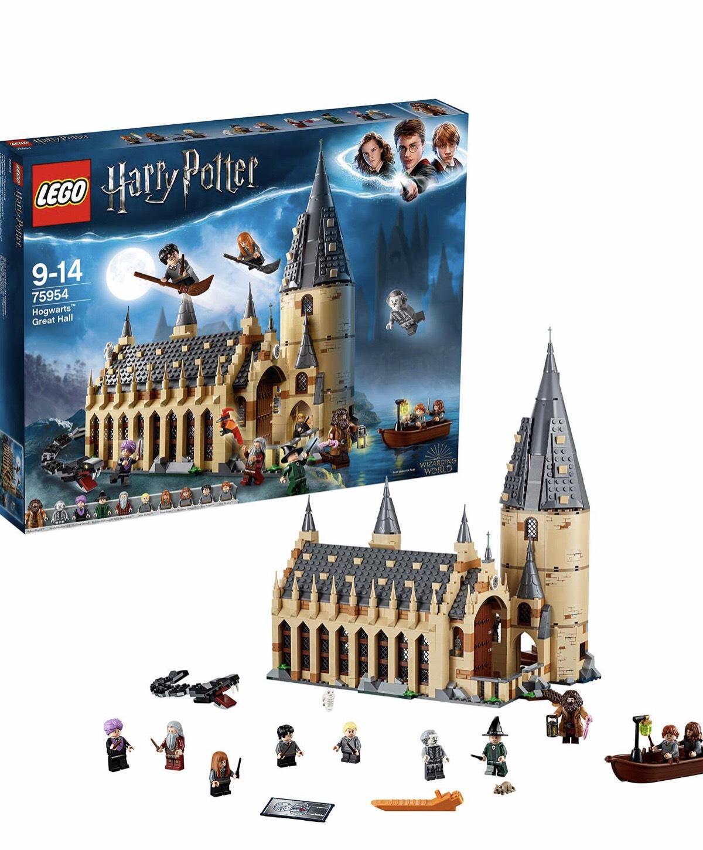 LEGO 75954 Harry Potter Hogwarts Great Hall Castle Toy £69.99 @ Amazon