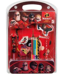 Incredibles 12 piece stationary set £1.49 @ Home Bargains Gloucester
