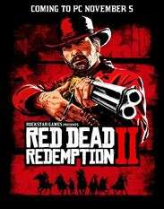 Red Dead Redemption 2 (PC) - £35.19 with code @ Voidu