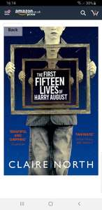 First Fifteen Lives of Harry August 99p kindle edition @ Amazon