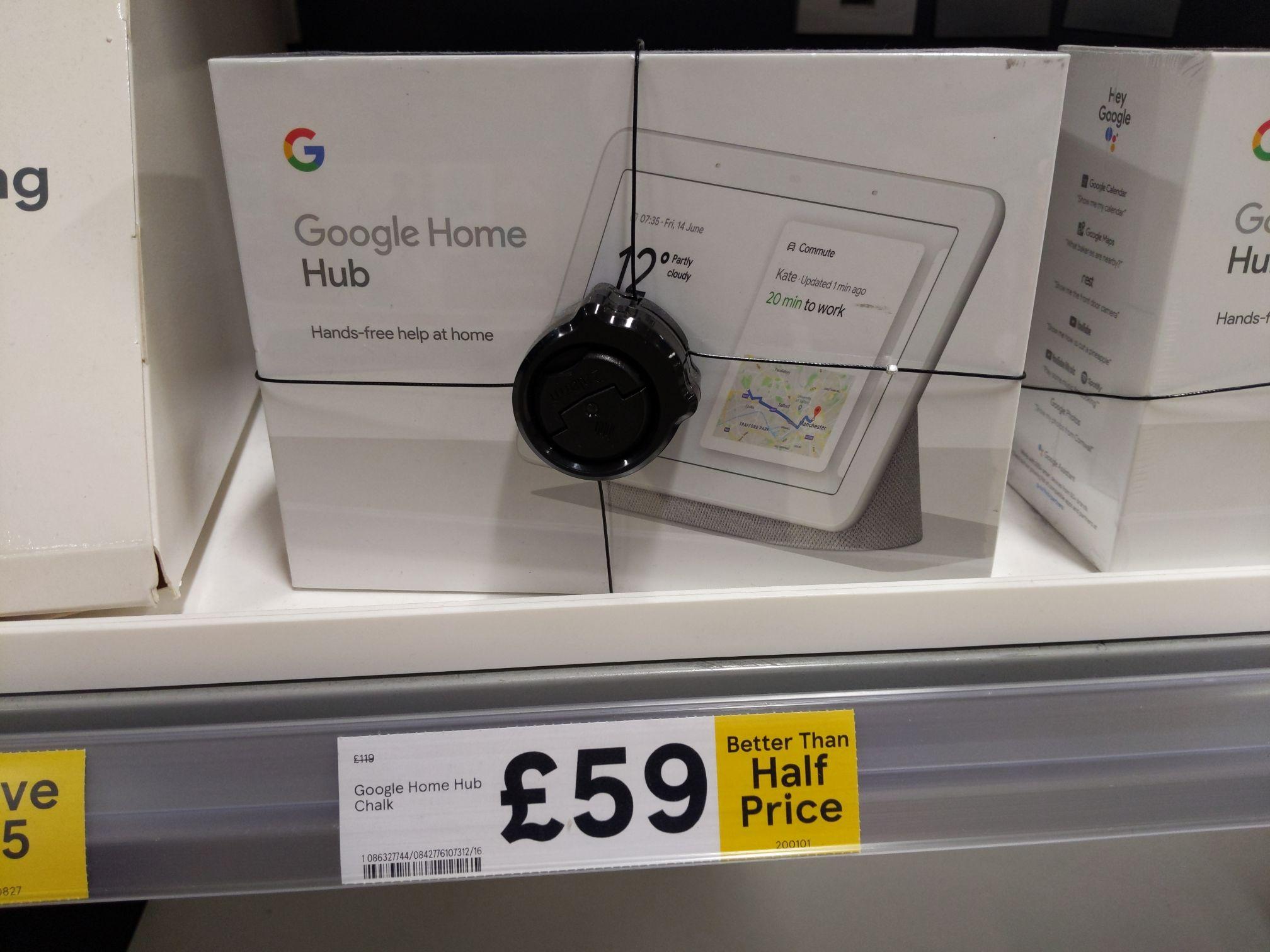 Google Home Hub £59 Tesco Carrickfergus, (Model number GA00516-GB)