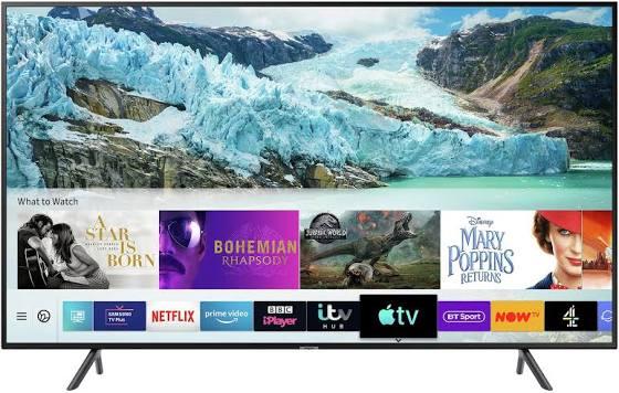 Samsung 55-inch RU7100 HDR Smart 4K TV £374 @ Amazon