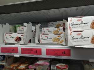 Selected 2 x 70g/90g Bonne Maman desserts £1 instore and online @ Sainsbury's