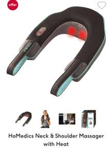 HoMedics Neck & Shoulder Massager with Heat in BOOTS £17.99