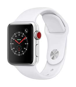 Apple Watch Series 3 (GPS +Cellular) Aluminium 38mm Silver Sports Wristband White £181.59 (£177 with fee free card) Delivered @ Amazon Italy