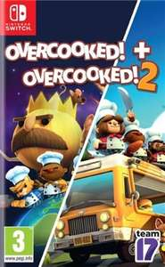 Overcooked! + Overcooked! 2 (Switch) - £24.95 delivered @ The Game Collection