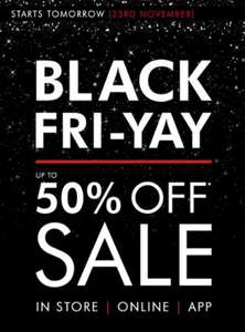 Matalan Black Friday sale up to 50% off