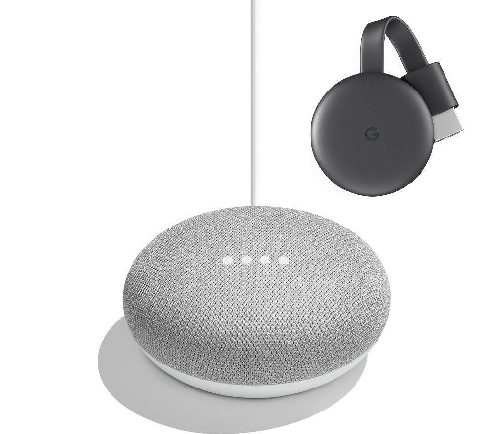 Google Chromecast 3rd Generation + Google Home Mini £39 @ Currys