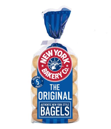 New York Bagel @ Co op £1.25