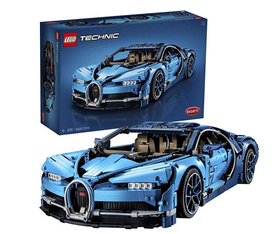 LEGO 42083 Technic Bugatti Chiron Super Sports Car £189.97 @ Amazon