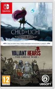 Child of Light & Valiant Hearts Double Pack - Nintendo Switch - £16.85 at ShopTo