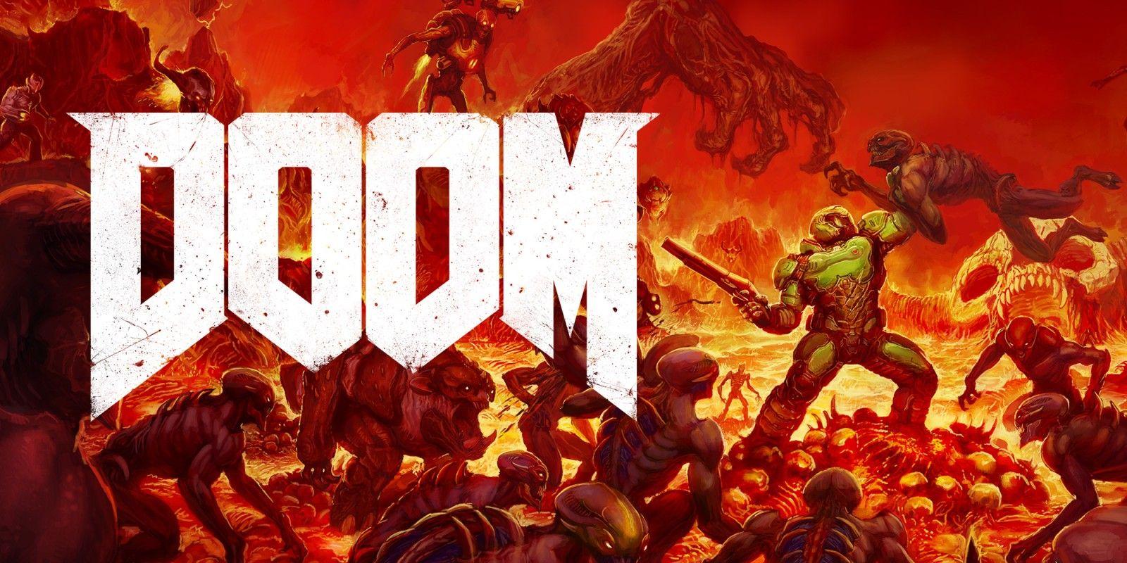 Doom on Nintendo switch £24.99 @ Nintendo