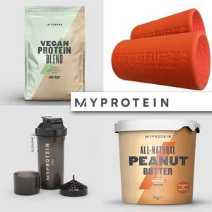 41% Off Everything + Free Delivery - No Min Spend @ MyProtein - 1KG All-Natural Peanut Butter £4.12 / Fat Gripz Extreme £18.87