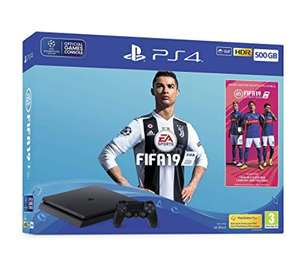 Sony PS4 Slim 500GB FIFA 19 Bundle £143.07 Like New from Amazon Warehouse