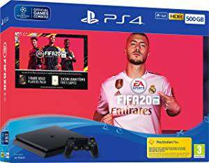 Sony PS4 Slim 500GB FIFA 20 Bundle £191.68 Like New from Amazon Warehouse (OR £181.90 for Very Good Condition item)