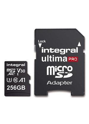 Integral UltimPro 256GB Micro SD Card 4K Ultra-HD Video Premium High Speed Memory MicroSDXC £21.99 at Base.com