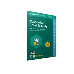Kaspersky Total Security 2020 3 Devices 1 Year Licence PC-Mac-Android £12.99 at Ryman