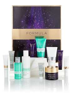 Formula 12 Days Of Beauty Advent Calendar £30 @ M&S (free standard delivery)