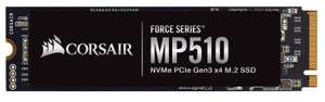 Corsair MP510 960GB M.2-2280 NVMe PCIe SSD £104.98 delivered @ Ebuyer