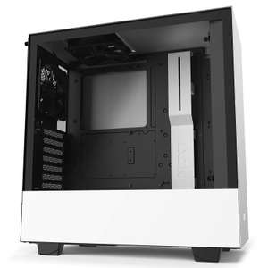 NZXT H510 - Compact ATX Mid-Tower PC Gaming Case - Front I/O USB Type-C Port - Tempered Glass Side Pane £54.98 @ Amazon