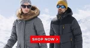FREE DELIVERY ALL ITEMS UNTIL SUNDAY @ Mountain Warehouse