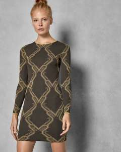 HILIYA Ice Palace knitted dress (Free Delivery) £96 @ Ted Baker