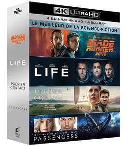 Blade Runner 2049 / Life / Arrival / Passengers [4K UHD + Blu-ray 4 movie Box Set] - £28.47 delivered @ Amazon.fr