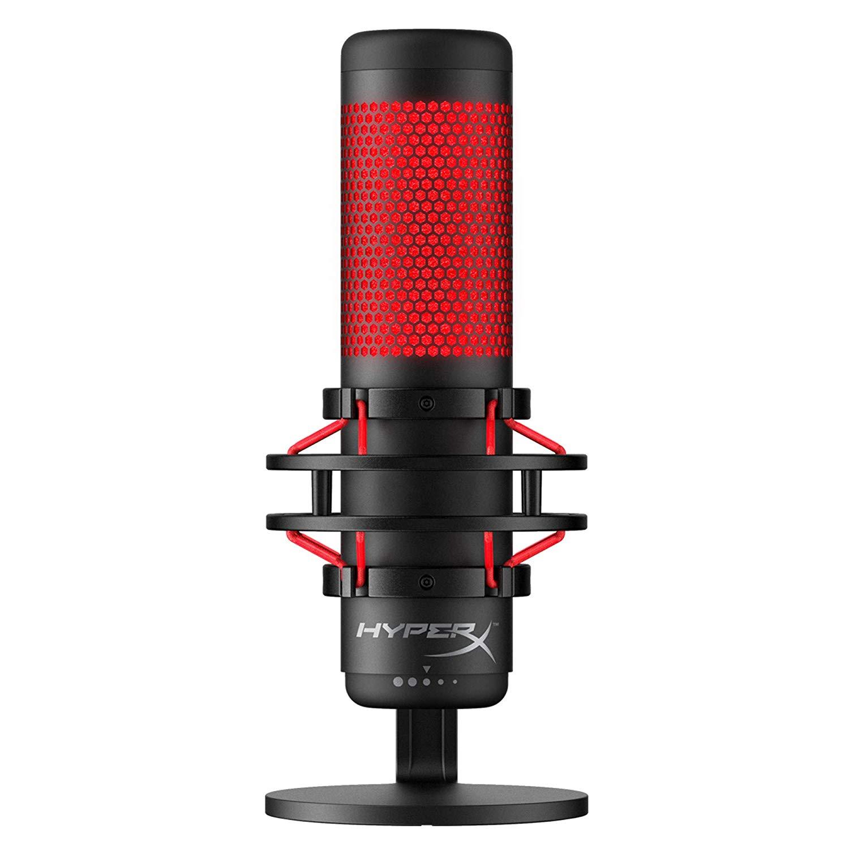 HyperX HX-MICQC-BK QuadCast – Standalone Microphone £75.99 @ Amazon