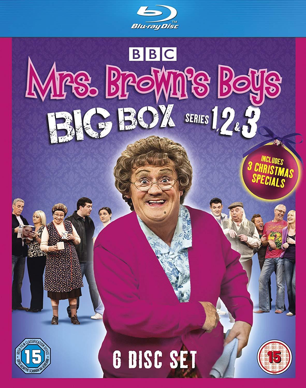 Mrs Brown's Boys - Big Box Series 1-3 + specials BLU RAY BOX SET £7.91 @ Amazon / ZOOM (+ £2.99 NP)