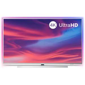 """Philips 50PUS7334 50"""" Smart Ambilight 4K Ultra HD Android TV with HDR10+, Dolby Vision, Dolby Atmos and P5 Processor"""